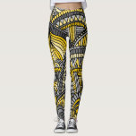 "Leggings, Yellow and Gray Zendoodle Pattern Leggings<br><div class=""desc"">I don&#39;t know if anyone reads this far down or not. LOL There aren&#39;t any words that I can write that would talk you into buying this product. You&#39;re going to buy it because of the design. I really hope you do like the design, not only because I might sell...</div>"