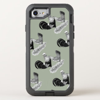 Leghorns Production Brown Chickens OtterBox Defender iPhone 7 Case