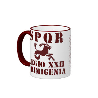 Legion 22d3, This storied Legion (and its twin,... Ringer Coffee Mug