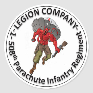 Legion Circle Sticker