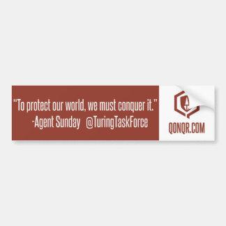 Legion Conquer It Bumper Sticker