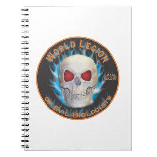 Legión de biólogos malvados notebook
