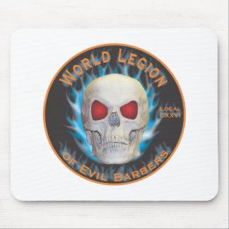Legión de peluqueros malvados tapete de ratón