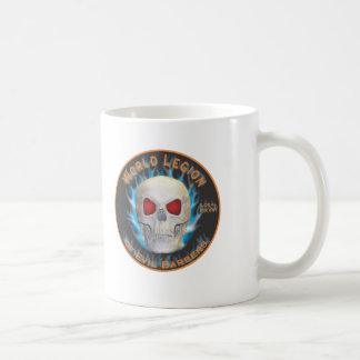 Legión de peluqueros malvados taza de café