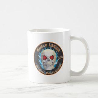 Legión de políticos malvados taza de café