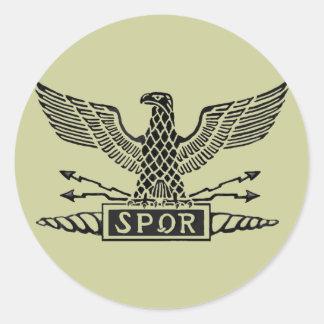 Legion Eagle Classic Round Sticker