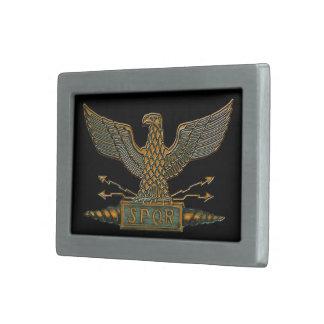 Legion Eagle Dark Copper Buckle Rectangular Belt Buckle