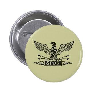 Legión Eagle Pin Redondo De 2 Pulgadas