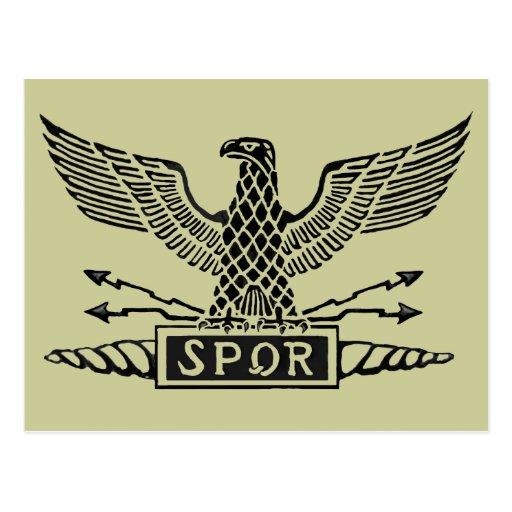 Legion Eagle Post Card