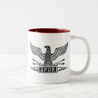Legión Eagle Taza De Dos Tonos