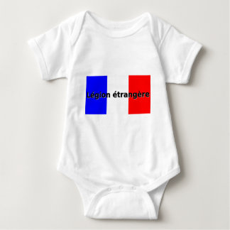 Legion etrangere baby bodysuit