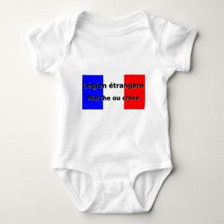 Legion etrangere - Marche ou creve Baby Bodysuit