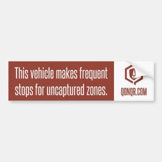 Legion Frequent Stops Bumper Sticker
