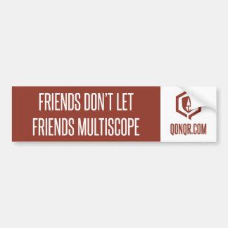 Legion Friends Multiscope Bumper Sticker