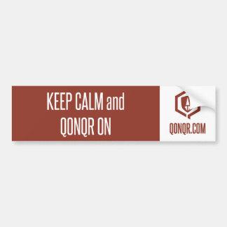 Legion Keep Calm Bumper Sticker
