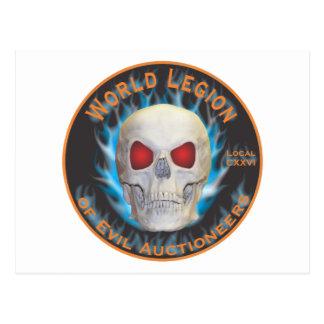 Legion of Evil Auctioneers Postcard