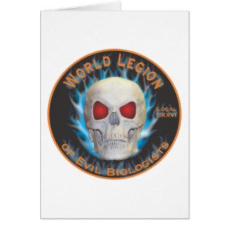 Legion of Evil Biologists Card