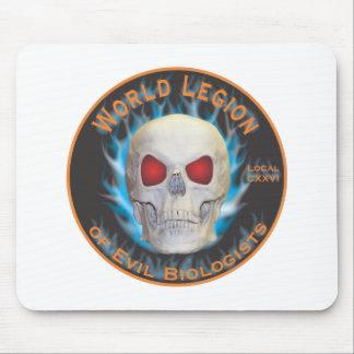 Legion of Evil Biologists Mouse Pad