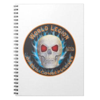 Legion of Evil Conservatives Notebook