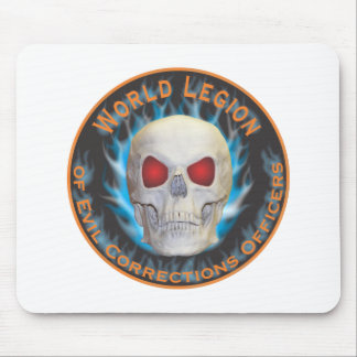 Legion of Evil Corrections Officers Mouse Pad