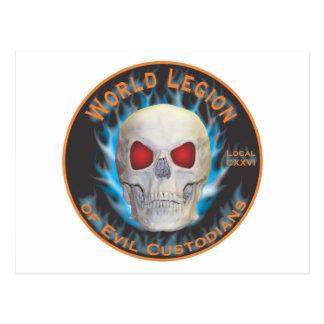 Legion of Evil Custodians Postcard