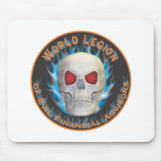 Legion of Evil Financial Advisors Mouse Pad