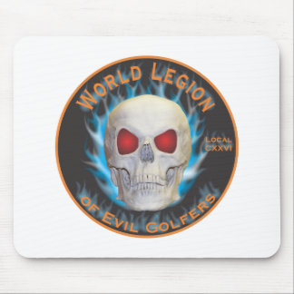 Legion of Evil Golfers Mouse Pad