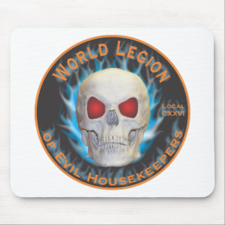 Legion of Evil Housekeepers Mouse Pad