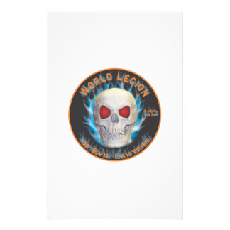 Legion of Evil Lawyers Personalized Stationery