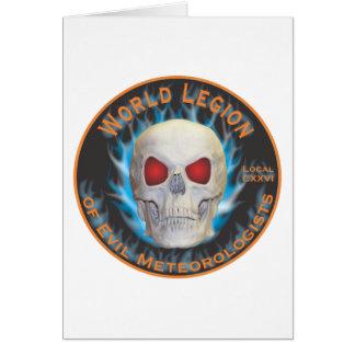 Legion of Evil Meteorologists Card