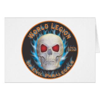 Legion of Evil Paralegals Card