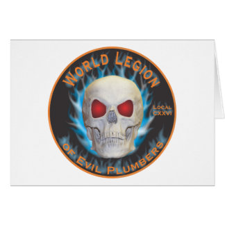 Legion of Evil Plumbers Card