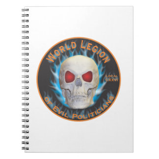 Legion of Evil Politicians Notebook