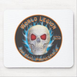 Legion of Evil Principals Mouse Pad