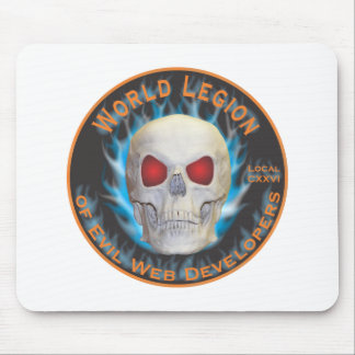 Legion of Evil Web Developers Mouse Pad
