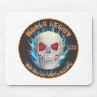 Legion of Evil Welders Mouse Pad
