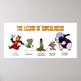 Legion of Super Losers Poster