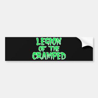 Legion of the Cramped Bumper Sticker