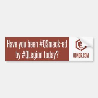 Legion QSmack Bumper Sticker