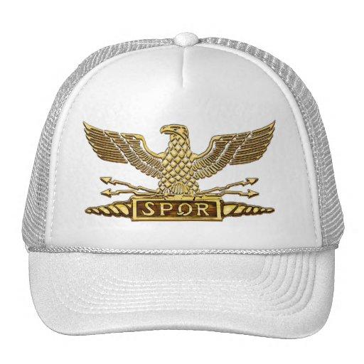 Legión romana de Eagle del oro Gorras