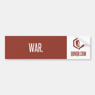 Legion War Bumper Sticker