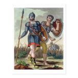 Legionaries, from 'L'Antica Roma', 1825 (colour li Postcard
