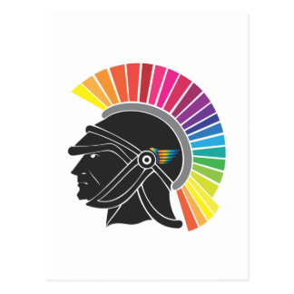 Legionario del arco iris postal