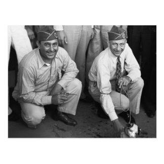 Legionarios en Luisiana, 1938 Postales