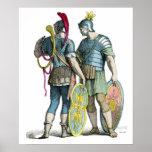 Legionarios romanos antiguos poster