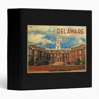 Legislative Hall Delaware 3 Ring Binder