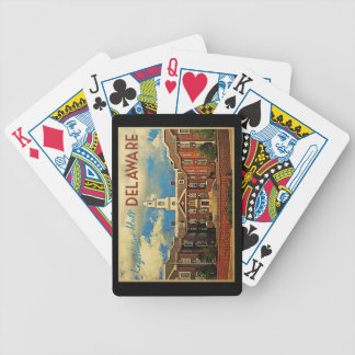Legislative Hall Delaware Bicycle Playing Cards