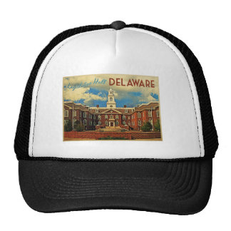 Legislative Hall Delaware Trucker Hat