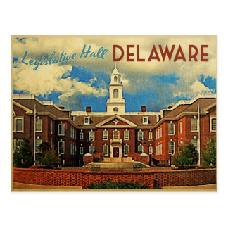 Legislative Hall Delaware Postcard