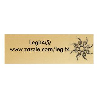 legit4's buisness card. business card templates